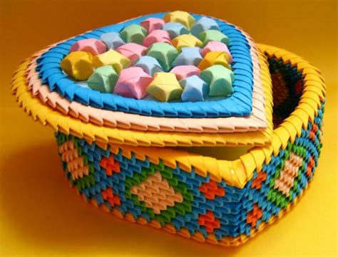 Handmade Jigsaw Puzzles - origami box jigsaw puzzle in handmade puzzles on