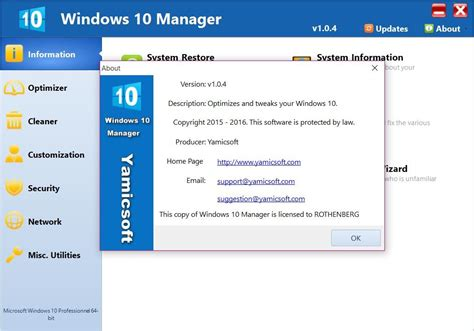windows 10 full version download with crack yamicsoft windows 10 manager 2 1 3 incl keygen full version