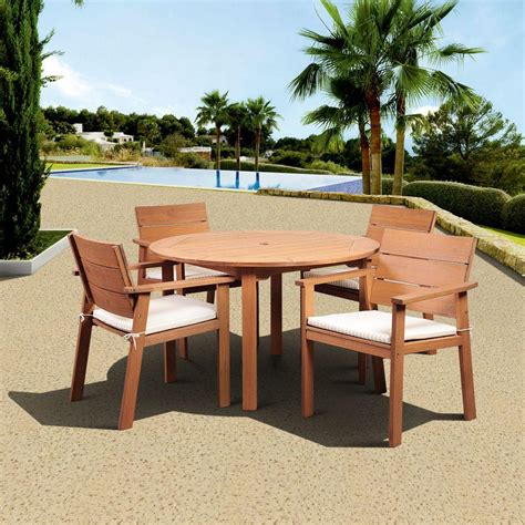 wood patio furniture patio dining furniture patio