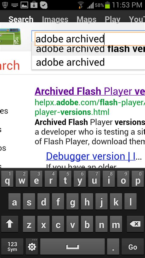macromedia flash player for android