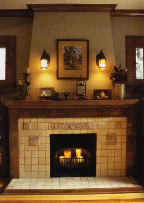 craftsman fireplace tile home renovation ideas on craftsman fireplace
