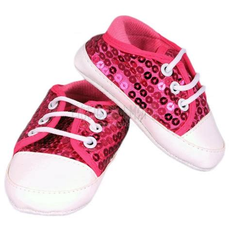 sequin baby shoes pink shoes