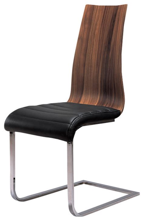 dining chairs modern at home usa wooden veneer dining chair dining chairs houzz