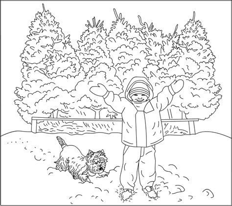 winter coloring pages for adults s free coloring pages november 2006