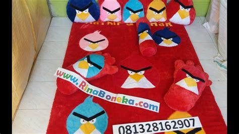 Karpet Karakter Angry Bird karpet kasur karakter motif angry birds
