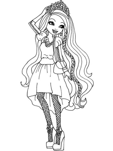 ever after high coloring pages download and print ever