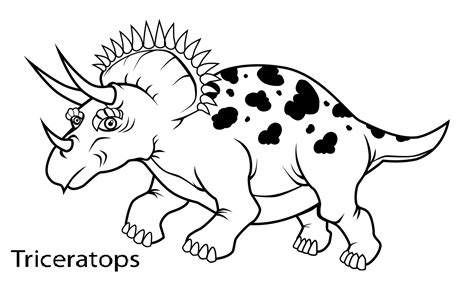 printable triceratops coloring pages coloring me