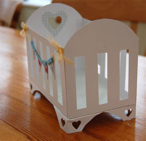 How To Make A Crib With Paper - paper is bliss baby it s new