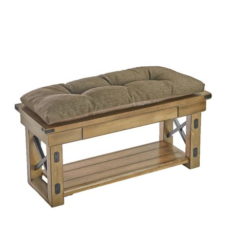 universal bench the gripper tufted 36 in omega chestnut universal bench