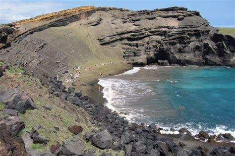 black sand beach big island wander wonder pinterest 1000 images about 10 reasons to visit the big island