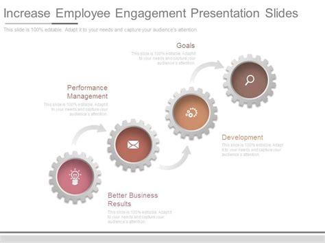 Increase Employee Engagement Presentation Slides Powerpoint Slide Template Presentation Employee Engagement Presentation Template