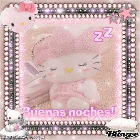 imagenes buenos dias hello kitty pink hello kitty buenas noches alwaysanangel69