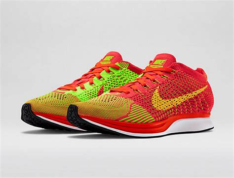 Sepatu Nike Flyknit Racer Bright Crimson Volt Orange 1 nike flyknit racer bright crimson volt o 249 l acheter
