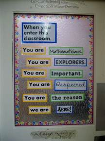 Math Classroom Decorations by Math Classroom Pictures 2013