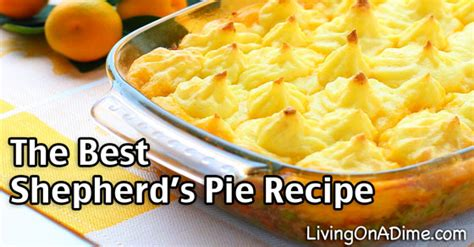 shepherds pie recipe great    leftovers