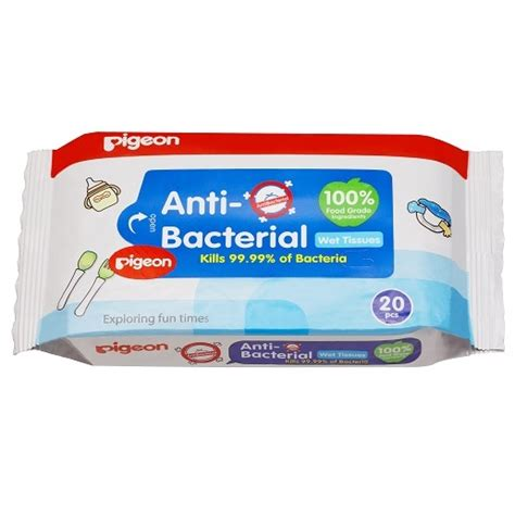 Pigeon And Wipes 20s 20 Sheet Baby tissues anti bacterial pigeon singapore and baby care products