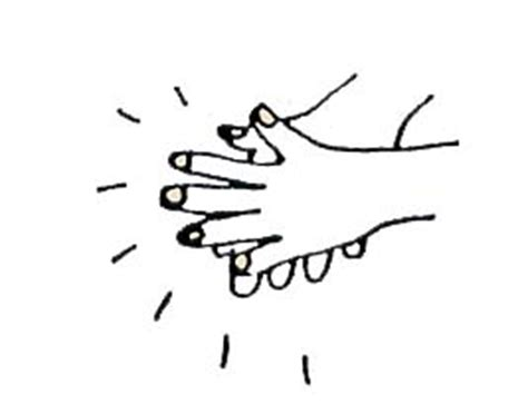 coloring pages of clapping hands freebies my blog anniversary gift for you 187 touched by an