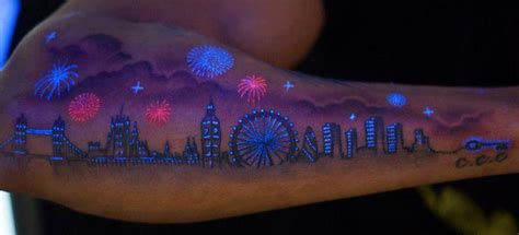 glow in the dark carnival tattoo black light tattoo by ron russo imgur