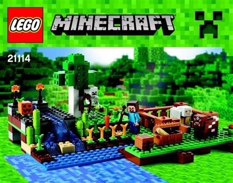 Micro House by Lego Minecraft Instructions Childrens Toys