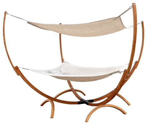 Hammocks And Accessories Bradley Square Hammock Stand With Canopy Contemporary