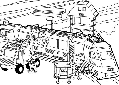 coloring page lego city lego city printable coloring pages lego pictures to print