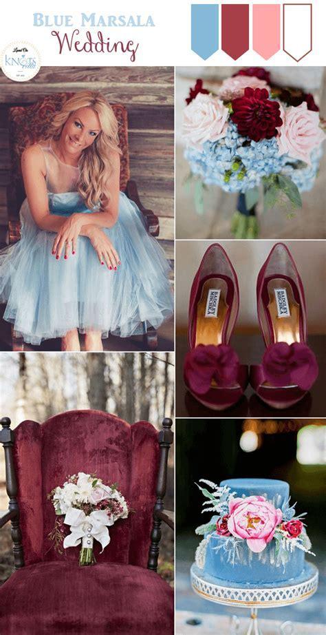 4 Marsala Wedding Inspiration Boards   Blue Wedding Ideas