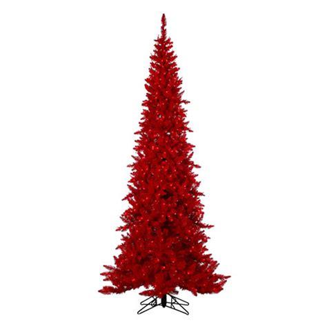 red christmas tree 7 5 red christmas tree
