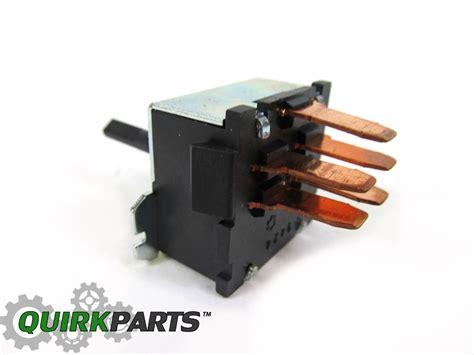 2000 Jeep Wrangler Fan Switch 2000 2004 Jeep Wrangler Ac Heater Fan Switch Speed Blower