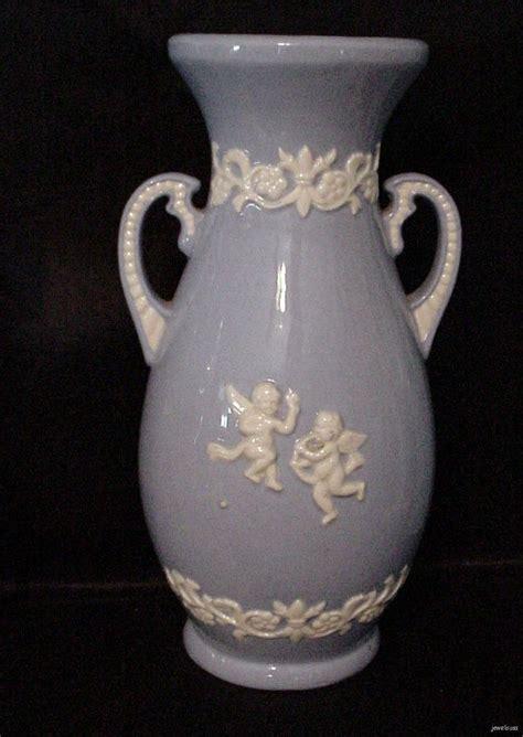 Wedgewood Vase by Wedgewood Jasperware Two Handled Vase Urn Cupids