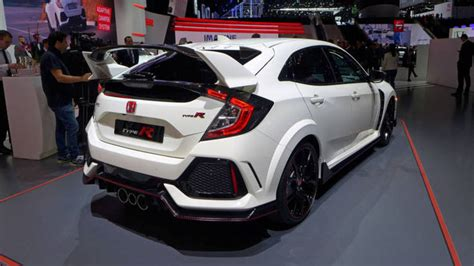 honda r type 2017 honda civic type r appearance much or just right