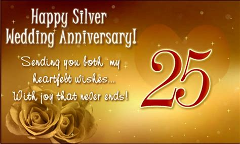 25th Wedding Anniversary Wishes Messages by 25th Anniversary Wishes Wishes Greetings Pictures