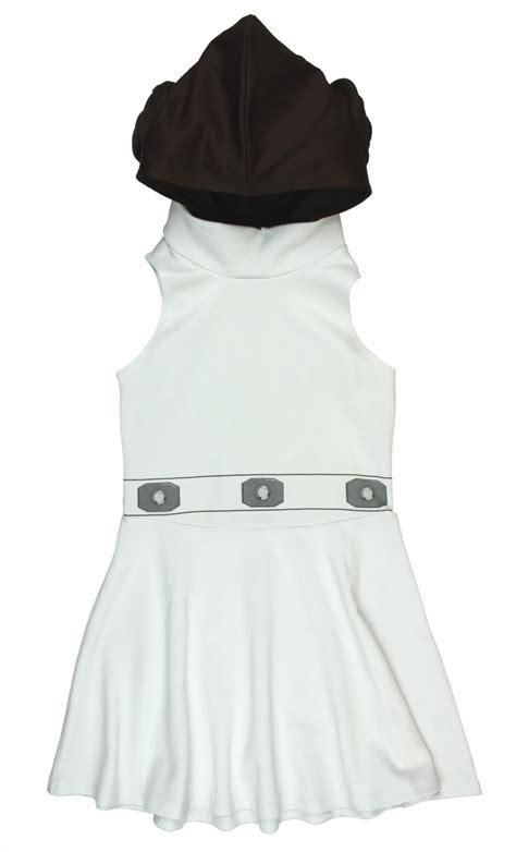 Leia Dress wars princess leia costume hooded dress with buns ebay