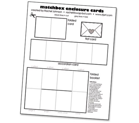 matchbox enclosure cards tutorial download