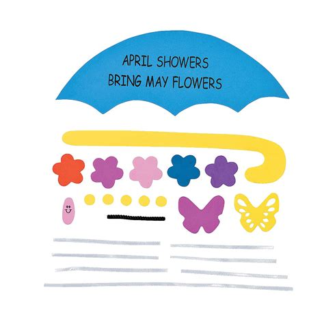 April Showers Bring by April Showers Bring May Flowers Sign Craft Kit