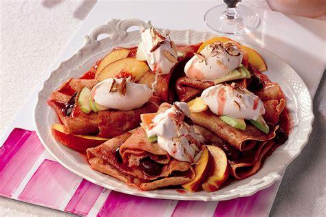 cucina bretone ricetta crepes bretoni alle ciliegie le ricette de la