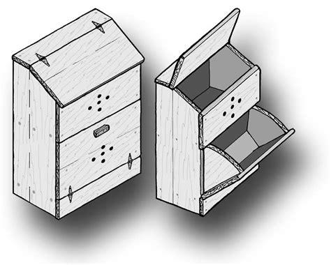 potato bin woodworking plans woodwork plans potato bin ebooks home and garden