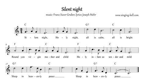 printable lyrics silent night free christmas carols gt silent night free mp3 audio song