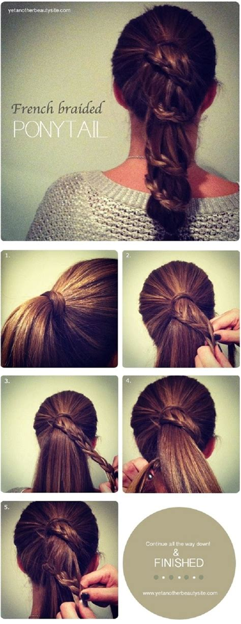 hairstyles easy tutorials 15 cute and easy ponytail hairstyles tutorials popular