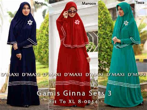 Maxi Dress Gamis Cellina Hijau Tosca Green feyzalakeisha