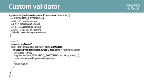 angular pattern validation message angular js primer in aalto university