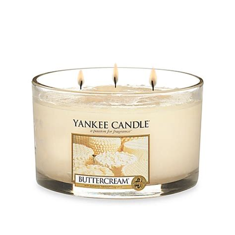 bed bath and beyond yankee candle yankee candle 174 housewarmer 174 buttercream 174 3 wick candle