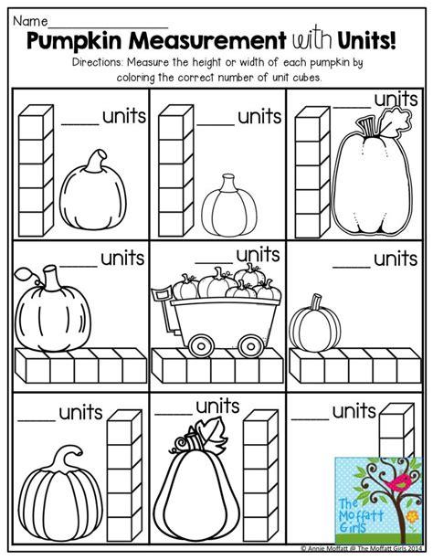 Pumpkin Science Worksheets
