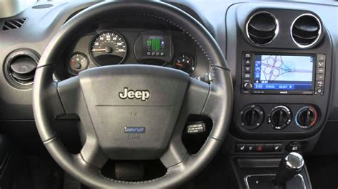 electric and cars manual 2012 jeep patriot navigation system 2009 jeep patriot ev youtube