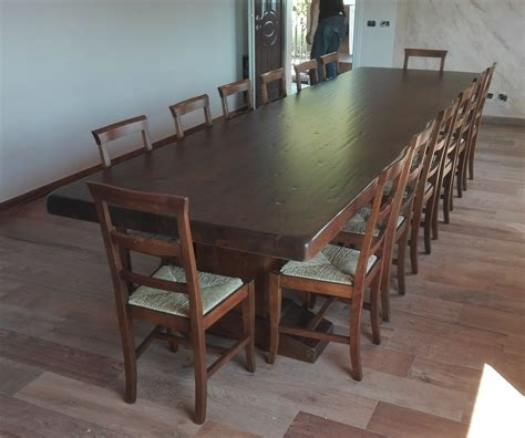 tavolo da taverna tavoli taverna 5 metri su arredare su misura