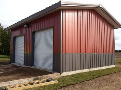metal building colors image result for metal building home color combinations