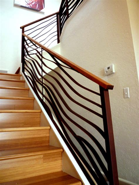 banister railing installation ocean theme stairway railing banister interior design ideas