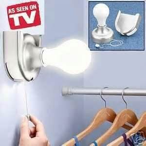 new bulb wireless stick on wall l light