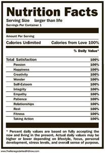 nutrition label template your own sweet nutrition facts t shirt