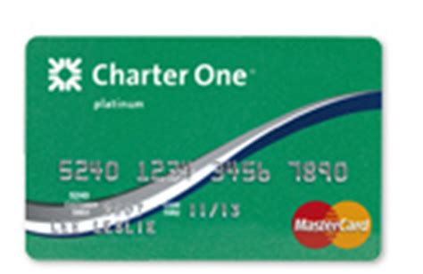 charter one platinum mastercard credit cards - Charter One Mastercard Gift Card
