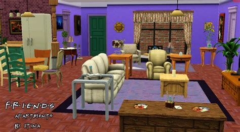 friends apartment number mod the sims f r i e n d s project the apartments